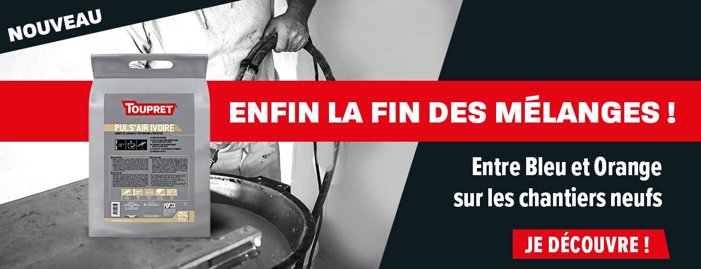 Toupret Nouveau Produit Ivoire Pour Chantier Neuf