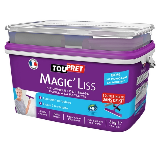 Toupret MagicLiss Outils