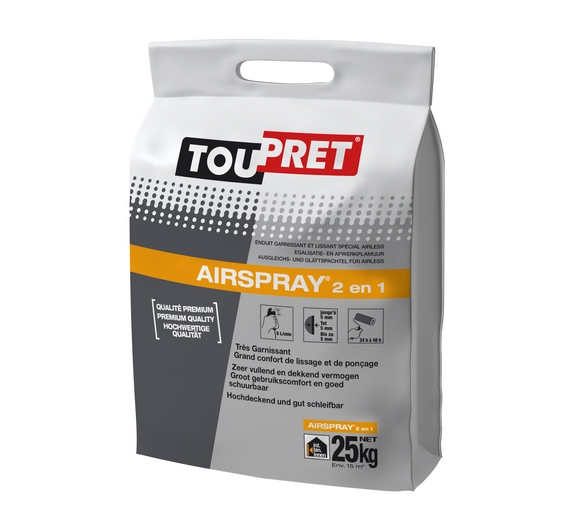 Toupret Airspary Sac 25 kg
