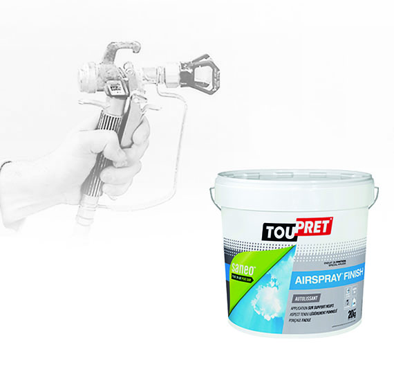 AIRSPRAY®  FINISH - APPLICATION AIRLESS