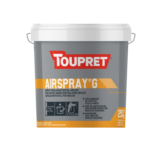 Airspray® G - Enduit d'Egalisage