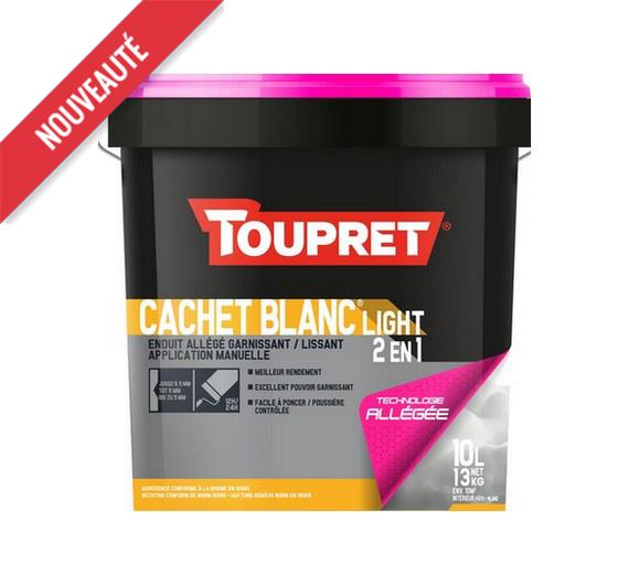 Toupret Cachet Blanc Light 2 en 1 10 kg