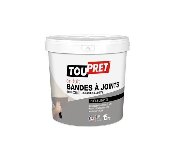 Toupret Enduit Bandes à Joints Pate 15kg
