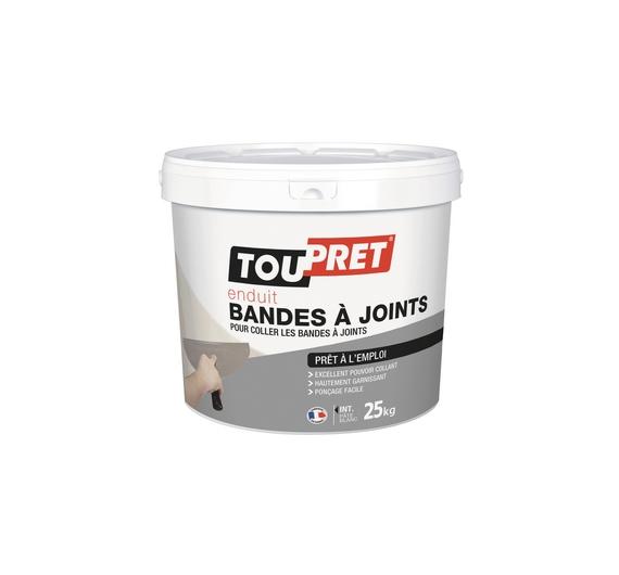 Toupret Enduit Bandes à Joints Pate 25kg