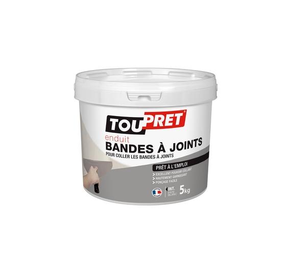 Toupret Enduit Bandes à Joints Pate 5kg