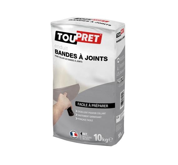 Toupret Enduit Bandes à Joints Poudre 10kg