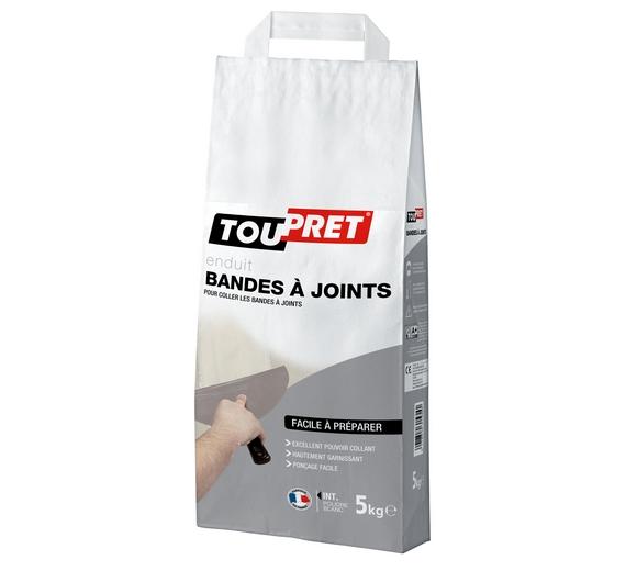 Toupret Enduit Bandes à Joints Poudre 5kg