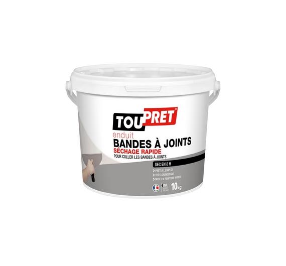 Toupret Enduit Bandes à Joints Séchage Rapide Pâte 10kg
