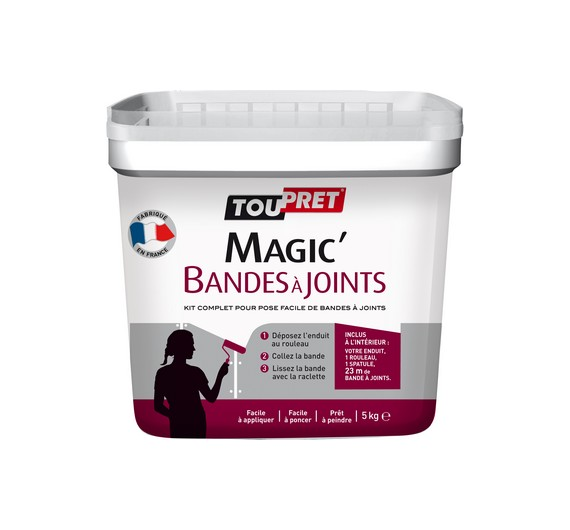 Toupret Magic Bandesajoints 5kg