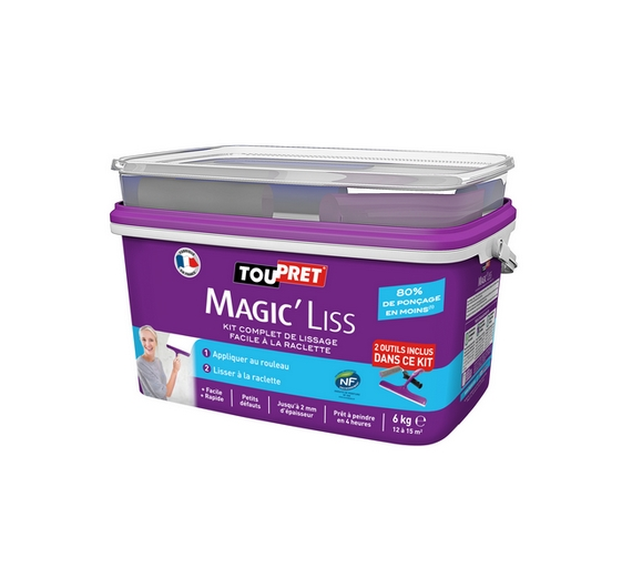 Toupret Magic'Petits defauts 7 kg