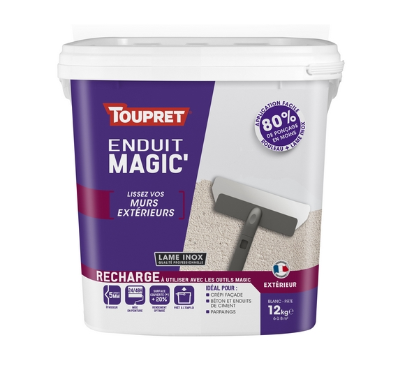 Toupret Magic MursDegradesAppliquer