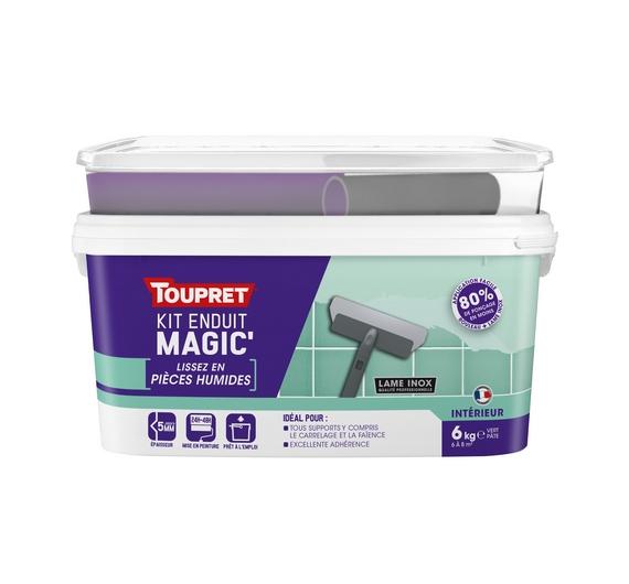 Kit Enduit Magic' Pièces Humides