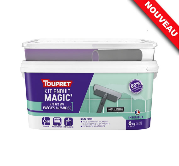 Toupret Magic Pieces Humides 6 kg