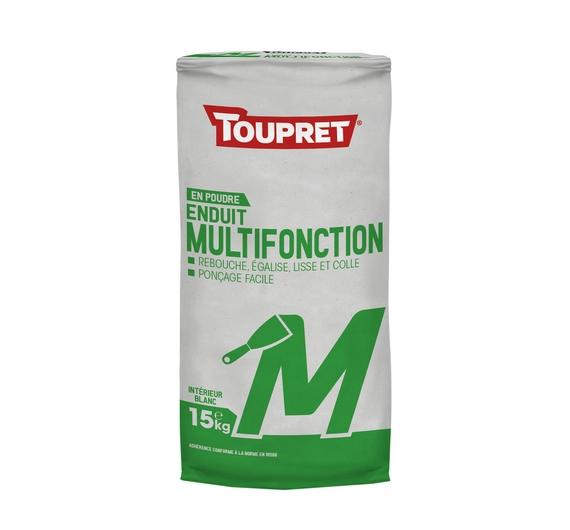 Toupret Enduit Multifonction M 15kg