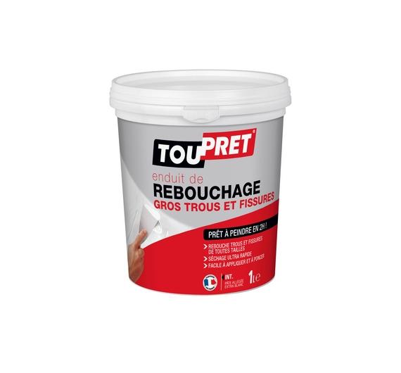 Toupret Rebouchage Gros Trous 1L