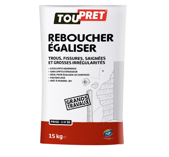 REBOUCHER GRANDS TRAVAUX