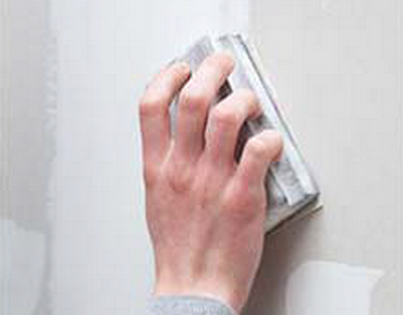 TOUPRET - Enduit de Rebouchage poudre - Mode operatoire