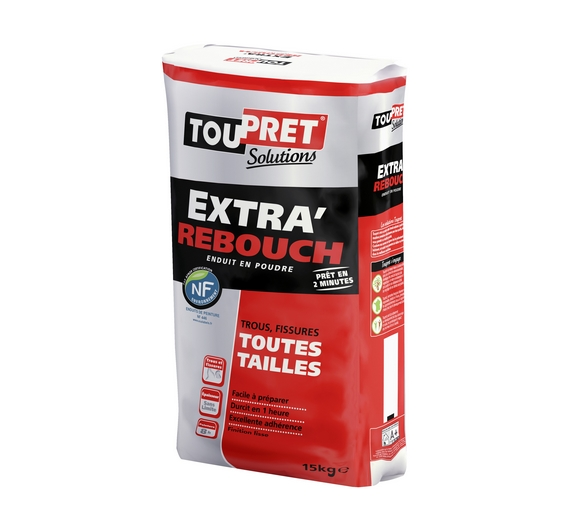 Toupret Solutions Extra Rebouch 15kg