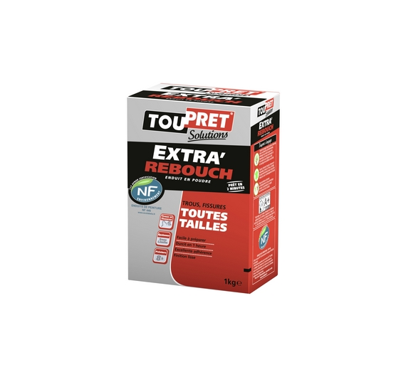 Toupret Solutions Extra Rebouch 1kg