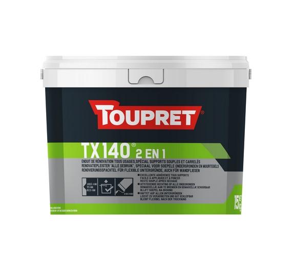 TX 140® 2 EN 1 - SUPPORTS SOUPLES ET CARRELES