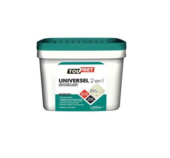 Toupret Uni2en1 Pate 1,25kg